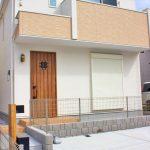 洋光台駅から徒歩14分ほどの落ち着いた住宅街にあるお家です。(外観)