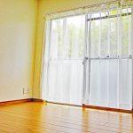 約5.2帖の洋室は掃き出し窓があり、陽の光を多く取り込めて陽当たり良好で明るいお部屋です(子供部屋)