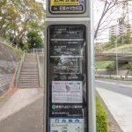 最寄りバス停の若葉台近隣公園前まで徒歩4分程ので行けます。(周辺)