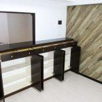 収納棚も豊富にあり食器や調理用品をたくさん収納できます