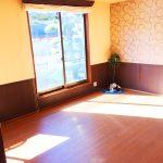 陽当たりの良い洋室(居間)