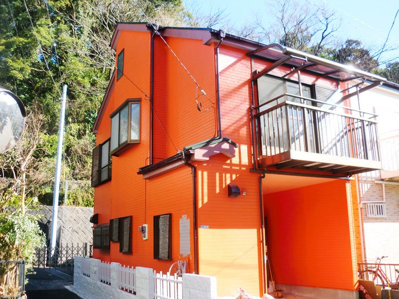平成26年11月に外壁屋根塗装工事済み(外観)