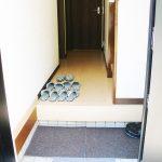 明るい玄関(玄関)