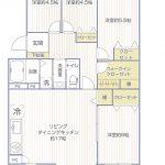 シーアイマンション三浦海岸2号棟507号室間取り図