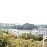 フローラ桂台8号棟 部屋からの眺望